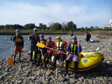 ボートに乗って川のスキルアップセミナー開催しました!
