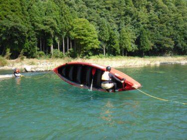 Eボート フリップリカバリー訓練!